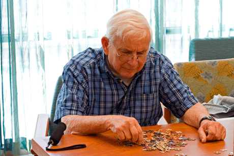 Man Working Puzzle